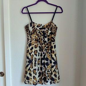 Betsey Johnson Leopard Print Dress [10]
